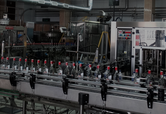 BOTTLING OF READY PRODUCTS